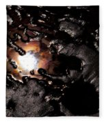 Reflection Of The Sun Fleece Blanket