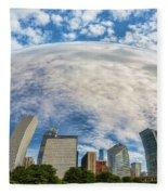 Reflection On The Bean Fleece Blanket