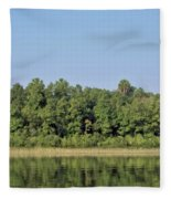 Reflection - On - The - Water Fleece Blanket