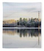 Reflections Across The Water Fleece Blanket