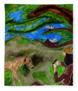 Reflections And Prayer Of St. Francis Fleece Blanket