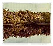 Reflections From Cockle Creek  Fleece Blanket