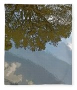 Reflections In A Lake - Poster Edges Fleece Blanket
