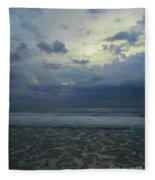 Reflections In The Surf Fleece Blanket