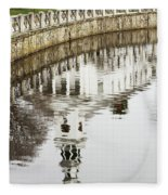 Reflections Of Church Fleece Blanket