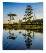 Reflections Of Dawn Fleece Blanket