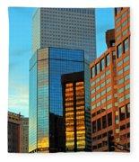 Reflections Of Denver Fleece Blanket