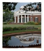 Reflections Of Monticello Fleece Blanket