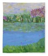 Reflections Of Fleece Blanket