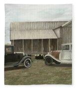 Reflections Of The Past Fleece Blanket