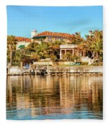 Reflections Of The Rich And Famous Fleece Blanket