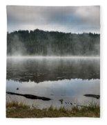Reflections On Reflection Lake 2 Fleece Blanket