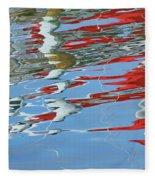 Reflections - Red White Blue Fleece Blanket