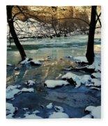 Reflective Chill Fleece Blanket