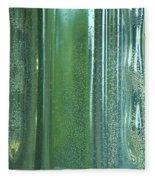 Reflective In Aqua Fleece Blanket