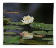 Reflective Lilly Fleece Blanket