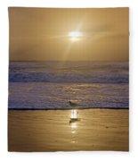 Reflective Spotlight  Fleece Blanket
