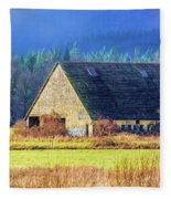 Refuge Barn Fleece Blanket