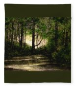 Refuge - Early Morning Fleece Blanket