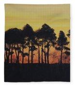 Refuge Sundown Fleece Blanket