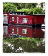 Regent Houseboats Fleece Blanket