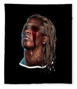 Reggae Fleece Blanket
