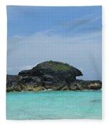 Relax At Horseshoe Bay Bermuda Fleece Blanket