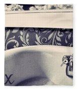 Relax In Blue Fleece Blanket