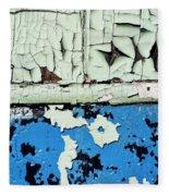 Remains Of A Door Fleece Blanket