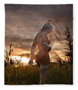 Remains Of The Day Fleece Blanket