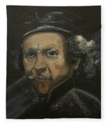 Rembrandt And Colour Fleece Blanket
