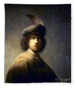 Rembrandt Van Rijn Fleece Blanket