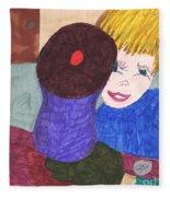 Remember When A Cupcake Was A Quarter  Fleece Blanket
