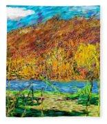 Remembering Autumn Fleece Blanket