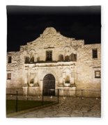 Remembering The Alamo Fleece Blanket