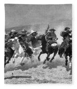 Remington: Dash For Timber Fleece Blanket