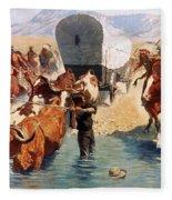 Remington: The Emigrants Fleece Blanket