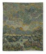 Reminiscence Of Brabant Saint Remy De Provence March - April 1890 Vincent Van Gogh 1853  1890 Fleece Blanket
