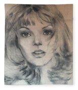 Renee Russo Fleece Blanket