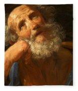 Repentant Peter 1637 Fleece Blanket