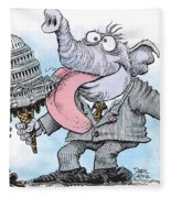 Republicans Lick Congress Fleece Blanket