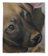 Rescue Pup Fleece Blanket