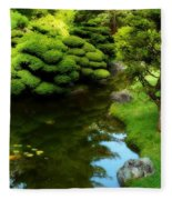Rest By The Pond Fleece Blanket