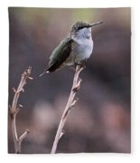 Restful Pose Fleece Blanket