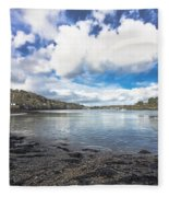 Restronguet Passage Hdr Fleece Blanket