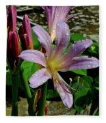 Resurrection Flower Fleece Blanket