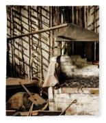 Retired Blacksmith Fleece Blanket
