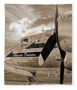 Retired - Sepia Fleece Blanket