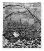 Retired Wheel Fleece Blanket