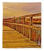 Retro Crosswinds 101914 Fleece Blanket